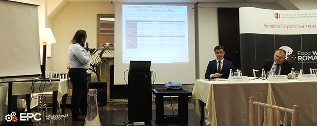 EPC a fost prezentă la dezbaterea pe tema risipei de hrană în România