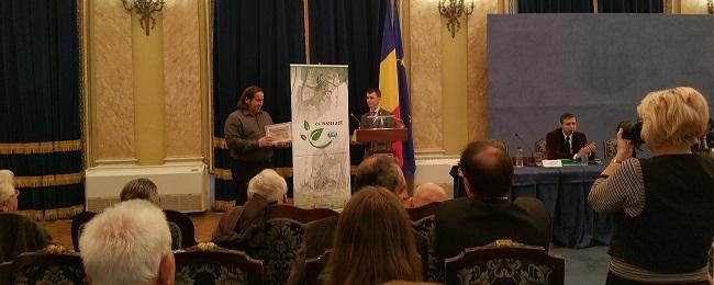 Diplomă de excelenţă din partea Universităţii din Bucureşti - Facultatea de Geografie