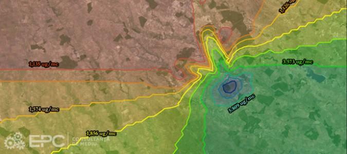 Modelarea dispersiei poluanţilor atmosferici