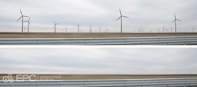 Analiza de impact vizual pentru parcuri eoliene